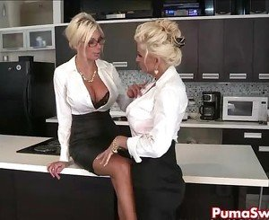 Puma Swede & Bobbi are the Lesbian Office Slut!