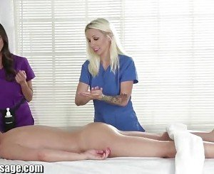 All Girl Massage Stevie Shae Lesbian pussy eating Compilation