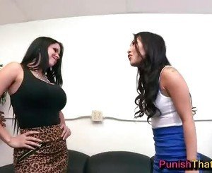 Cupcake Cat Fight Rough Lesbians - PunishThatGirl.com