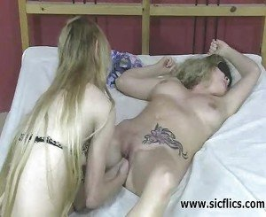 Intense double fist fucking orgasms
