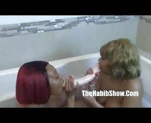 first time lesbo thickredxxx and golden chiraq freaks by hooded fuck