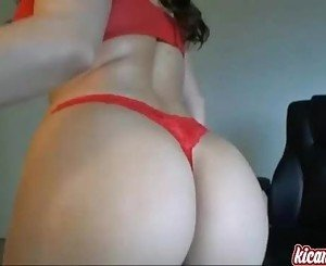 Sexy babe tears her wet pussy apart! Sexiest camshow! - kicams.com