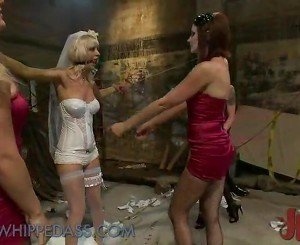 Dirty Bride Has Tortured In The Dungeon