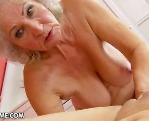 Dirty Immature Tess Visits A Mature Norma At Homemade To Help Her...