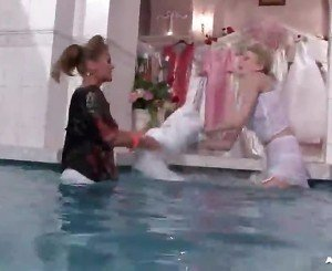 Bitchy Bride To Be Inside Wetlook Catfight