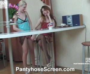 Sylvia And Clare Phat Hose Video