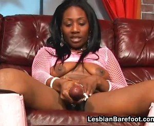 Lesbian Honey Has Banged By Ebony