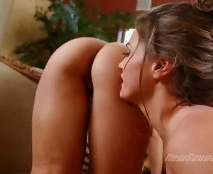 Ashlynn Brooke And Tori Black Rubbing The Ass Crack