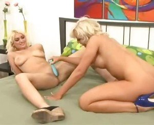 Golden Haired Babe Lacey Maguire Getting Breasty Licking And Toying Hot Friend